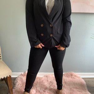 Black Oversize blazer